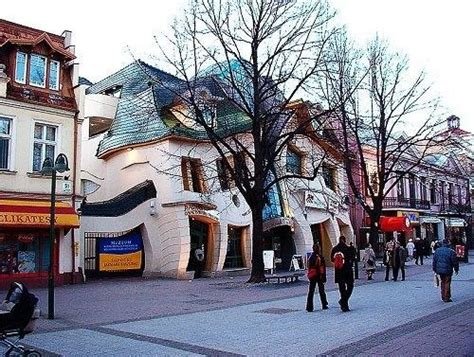 crooked houses the crooked house in sopot poland coming from the fairy