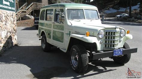 1950s Jeep 1950 Willys Jeep Station Wagon