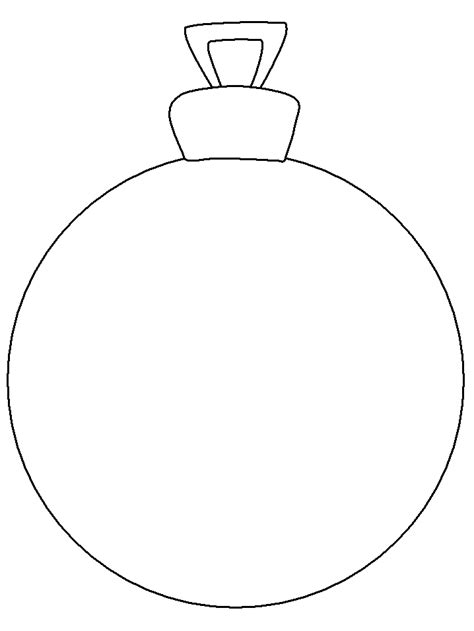 ornament christmas coloring pages coloring book