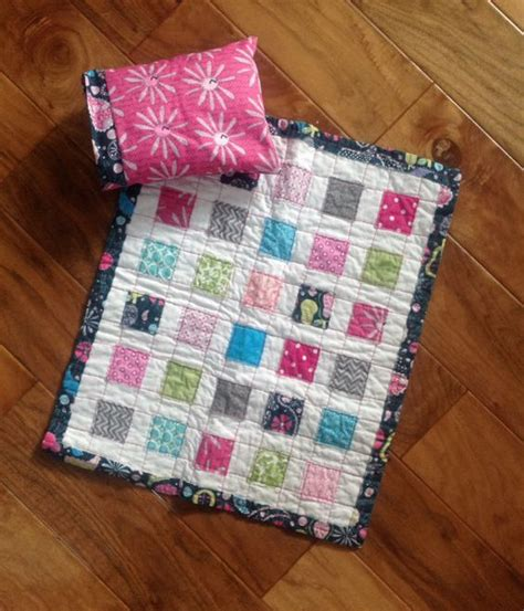 American Doll Quilt Size by Doll Quilt Scrappy American Size Quilt Quilt Sets