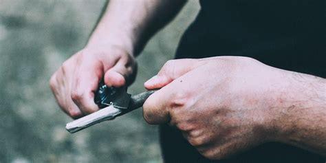 how to sharpen pocket knives how to sharpen a pocket knife askmen