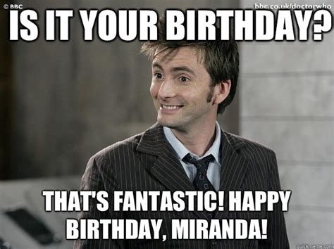 Doctor Who Birthday Meme - image doctor who happy birthday meme download
