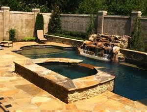 pool and spa designs east memphis geometric pool spa design