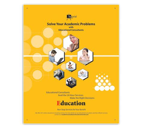 education poster templates education consultant flyer template designs