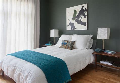d馗o chambre 騁udiant du vert dans la chambre cocon de d 233 coration le