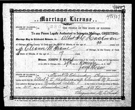 Cook County Marriage Records Search Rootdig Cook County Marriages With Spades