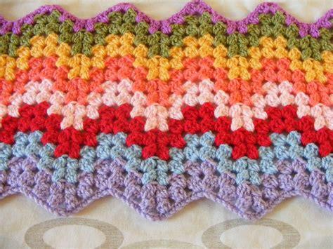 free pattern granny ripple afghan free crochet pattern for granny square ripple afghan