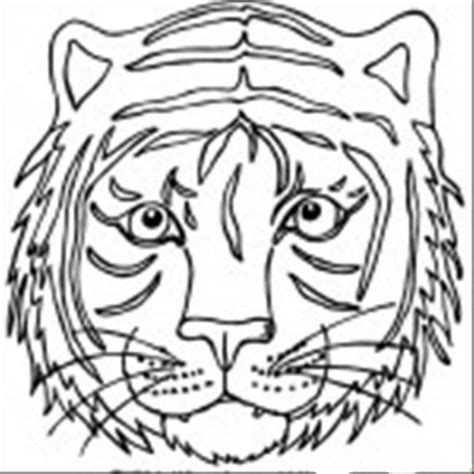 tiger mask coloring page get this tiger face coloring pages free printable 37192