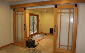 Interior Sliding Barn Doors For Homes Floating Walls On Pinterest Sliding Barn Doors Barn