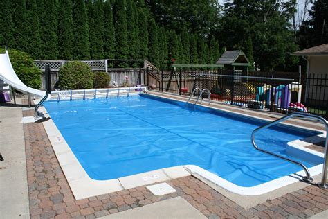 Solar Blanket Pool Cover by Spas Pools Unlimited Inc Pools
