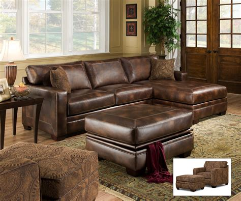 aspen sectional leather sofa with ottoman beautiful aspen sectional leather sofa with ottoman