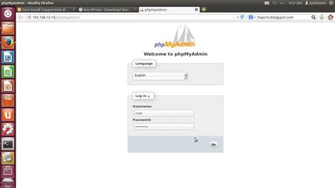 membuat website dengan wordpress di localhost membuat website dengan wordpress di linux mint we learn