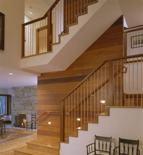 Wooden Banister Designs by Modern Handrail Designs That Make The Staircase Stand Out