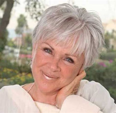 hairstyles for mature coarce wirey hair 20 super short hair styles for older women http www