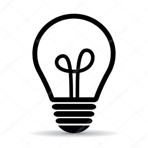 Glühbirne Symbol Vektor kostenloser Download