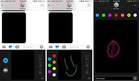 doodle draw ios messages on ios 10 how to use all the new features