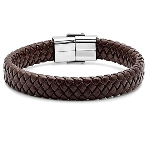 men s genuine leather bracelets