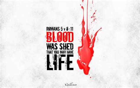 For Those Who Shed Blood With Me by Jesus Wordtrace Wallpapers