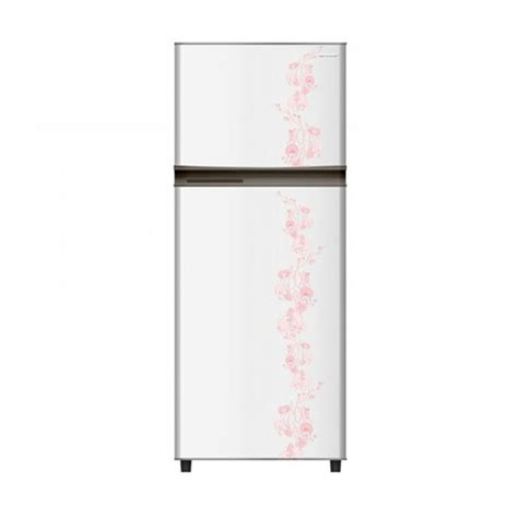 Kulkas 2 Pintu Merk Sharp Kirei jual sharp sj 195md fw kirei flower kulkas white 2
