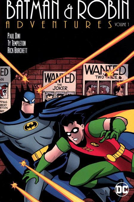 batman robin adventures vol 2 books batman and robin adventures tp vol 01 discount comic