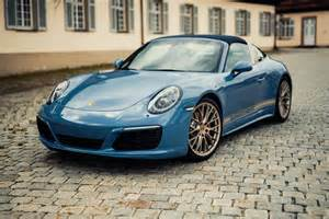 Porsche 911 Targa 4 S Official 2017 Porsche 911 Targa 4s Exclusive Design