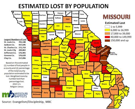 missouri baptist map demographics