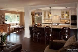 Kitchen Designs Open To Family Room Open Restaurant Kitchen Decoration Kitchen