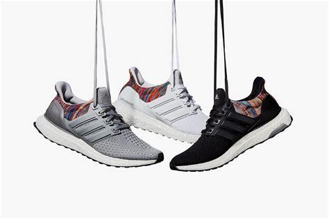 Sepatu Adidas Ultra Boost Rainbow White Multicolor Sneaker New 2017 ᐅ adidas mi ultra boost multicolor rainbow snkr