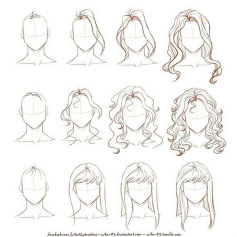 sketchbook x tips 25 best ideas about drawing hair tutorial on