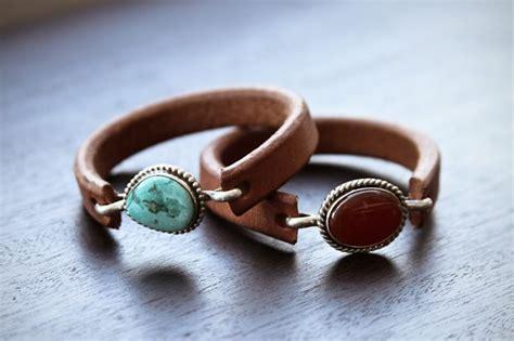 Handmade Leather Jewellery - 25 unique handmade leather jewelry ideas on