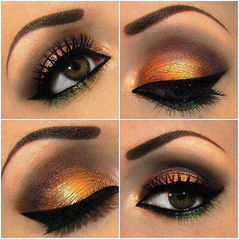 imagenes de ojos naranjas imagenes fantasia y color tips de maquillaje seg 218 n color