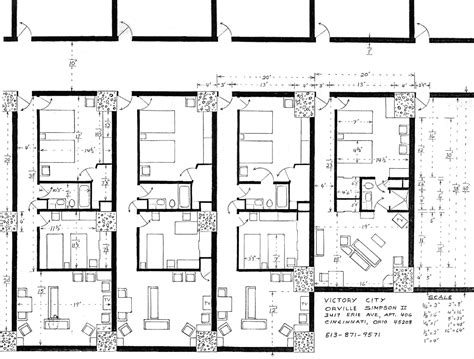 one garage apartment floor plans victory city tour floor plan of one and two bedroom