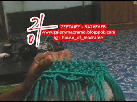 tutorial tas tali kur youtube tutorial tas tali kur membuat motif ulat atau sisik ikan