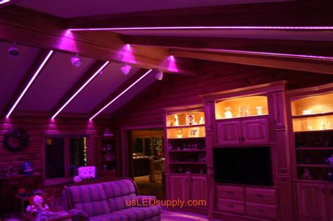 Led Light Strips In Room Living Room
