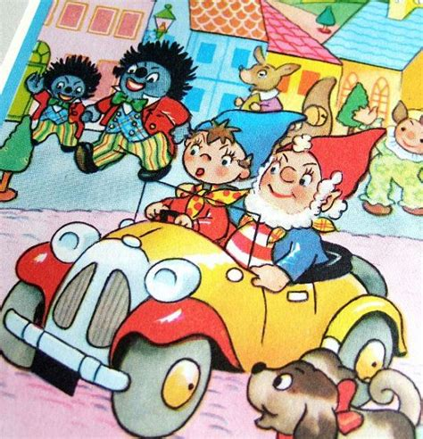noddy painting noddy and big ears vintage illustration ready to frame