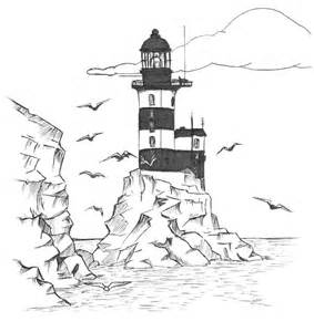 lighthouse coloring pages lighthouse coloring pages for adults coloring home