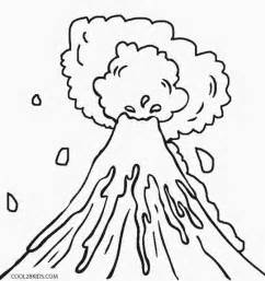 coloring pages for volcanoes printable volcano coloring pages for cool2bkids