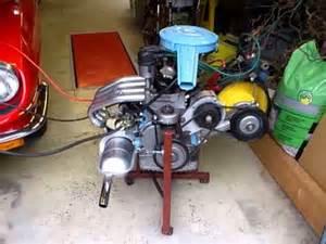 Fiat 850 Engine Fiat 850 Sport Coupe Proefstart Gereviseerde Motor