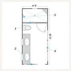 4 x 9 bathroom layout 1000 ideas about small bathroom layout on