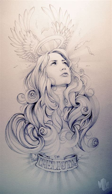 pretty angel tattoo designs 1000 images about angle for on