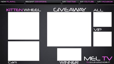 Twitch Giveaway - twitch giveaway overlay meltv by itdaudio on deviantart