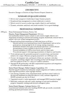 resume for an executive business director susan ireland