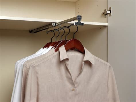 Ceiling Clothes Rack by Retractable Valet Rod