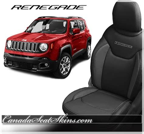 jeep renegade leather interior 2015 2017 jeep renegade custom leather upholstery