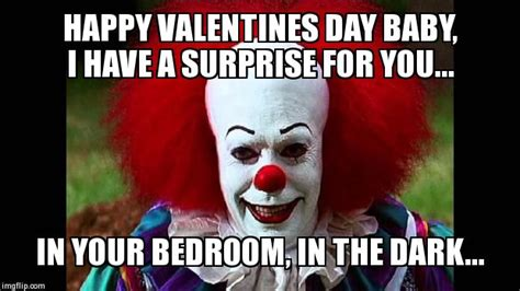 Happy Valentines Day Memes - i love clowns imgflip