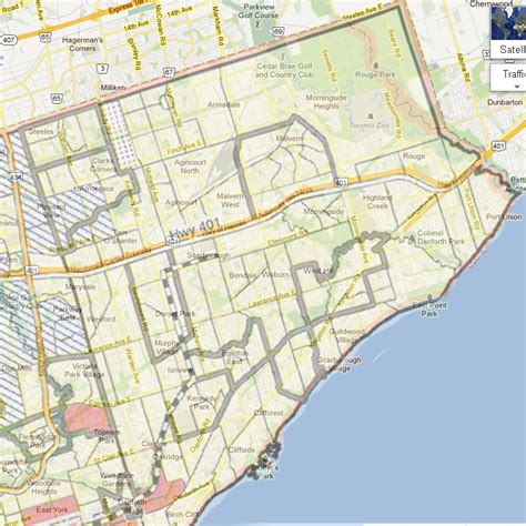 map of scarborough ontario canada decimation of the middle class in scarborough toronto