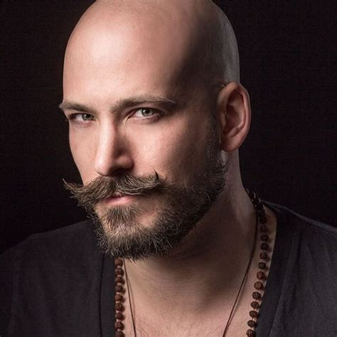 celebrities having moustaches with bald head 45 exquisite shaved head styles bold brave 2018