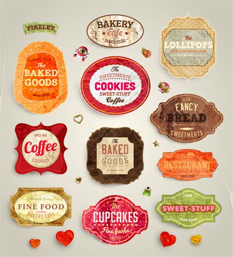 product label design templates free food labels design vector 01 labels and tags