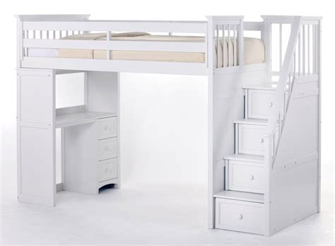 cheap loft beds with desk and stairs desk decoration ideas