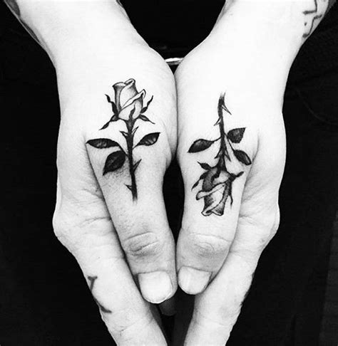 rose tattoo on hand meaning best 25 mens tattoos ideas on